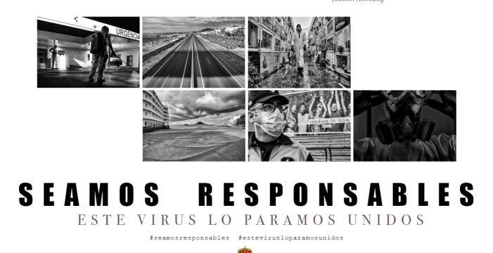 Granadilla trata de 'concienciar' a la población con imágenes en el confinamiento