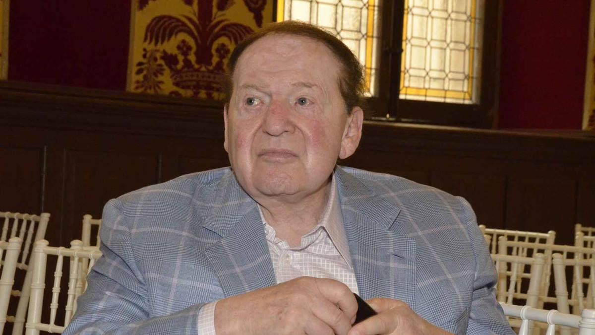 Sheldon Adelson fue el fundador de Las Vegas Sands Europa Press