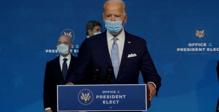 """Biden: """"Reconstruyendo una América mejor"""""""