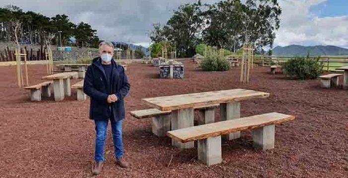 El Ayuntamiento de La Laguna reubica el merendero de Mesa Mota