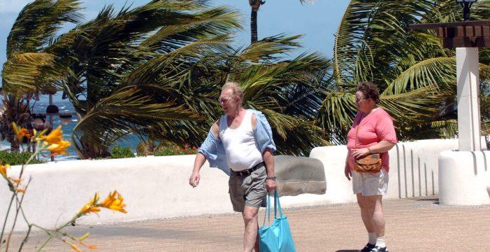 Rachas de viento muy fuertes en Canarias que podrían alcanzar los 60 km/h