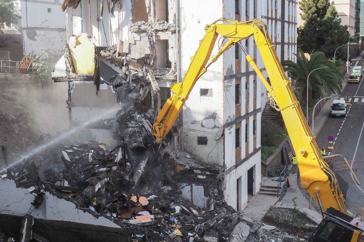 Día histórico en Las Chumberas: arrancan las demoliciones