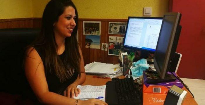 La concejala de Bienestar Social de Arafo se vacunó por ser la responsable del geriátrico municipal
