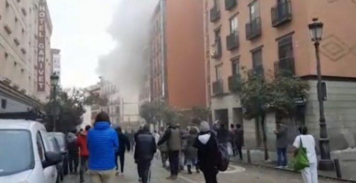 Así ha quedado la Calle Toledo, en Madrid, tras una fuerte explosión