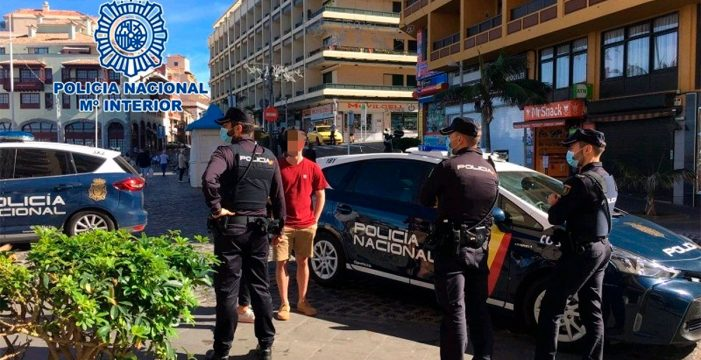 Detenidos en Tenerife tres familiares por atracar un comercio y una ermita en la misma noche