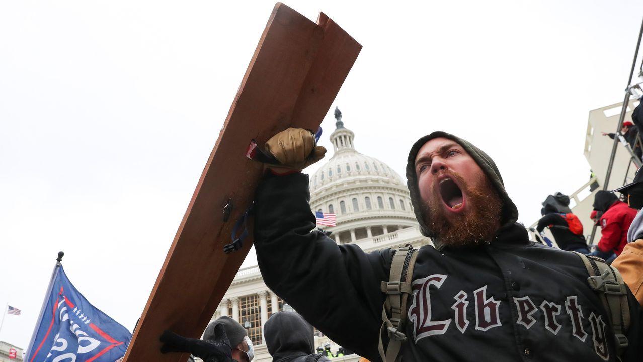 Altercados en el Capitolio estadounidense. Reuters