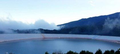 El excedente de agua permite cerrar el túnel de trasvase de la Palma por primera vez en 20 años