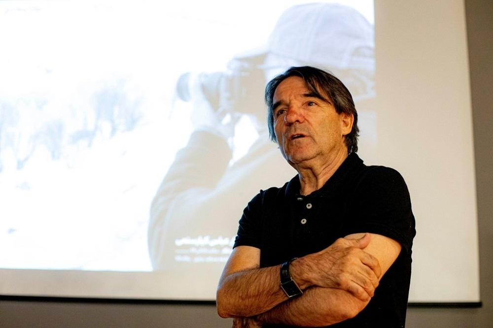 Javier Tolentino es uno de los críticos cinematográficos de referencia en España. / DA