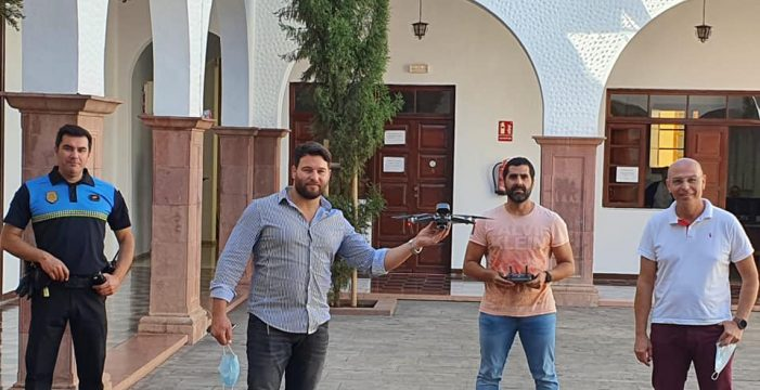 Polémica en Güímar por cómo utiliza el dron la Policía Local