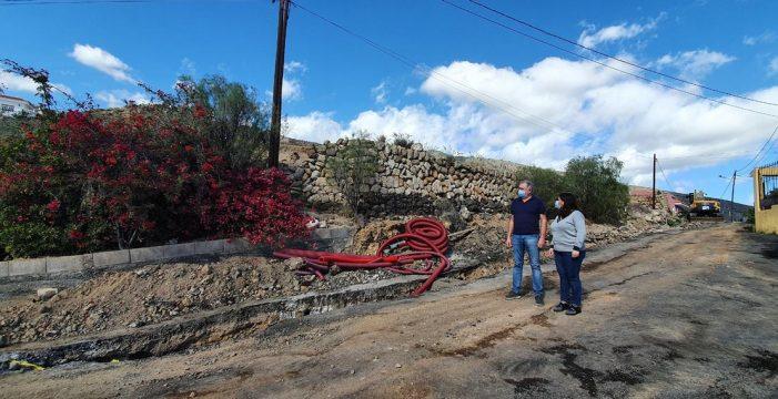 Candelaria mejora la red de agua y canalizaciones de alumbrado y telecomunicaciones