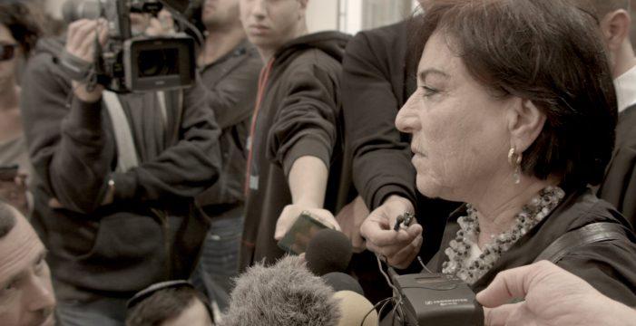 Lea Tsemel, la abogada judía que defiende a prisioneros palestinos, protagoniza el 'Documental del Mes' de Filmoteca Canaria