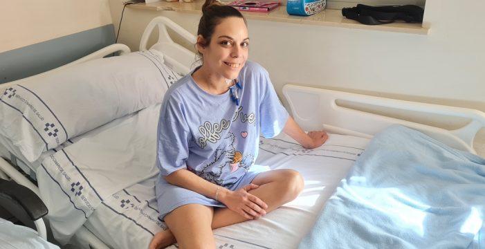 La lucha de Berta para hacer frente a un trasplante doble