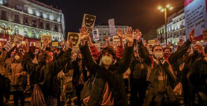 Unidas Podemos registra ante Justicia la petición de indulto urgente para Pablo Hasel