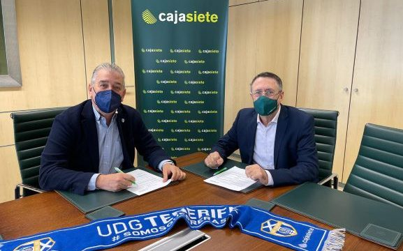 La Fundación Cajasiete-Pedro Modesto Campos y la UDG Tenerife renuevan su acuerdo de colaboración
