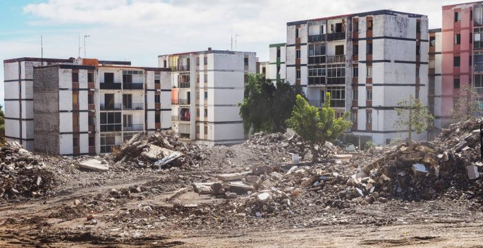 Hoy termina la demolición de la primera fase de Las Chumberas