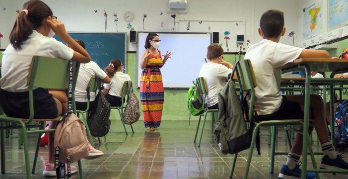 Educación mantendrá algunas normas anticovid el próximo curso: los recreos ya no serán iguales