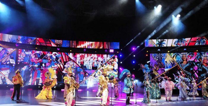 Las agrupaciones musicales graban su parte de 'Santa Cruz, Corazón del Carnaval'