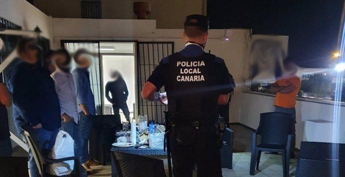 Desalojan una despedida de soltero en Gran Canaria
