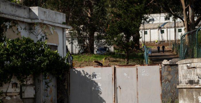 Diez detenidos tras una pelea entre migrantes en el campamento de Las Canteras