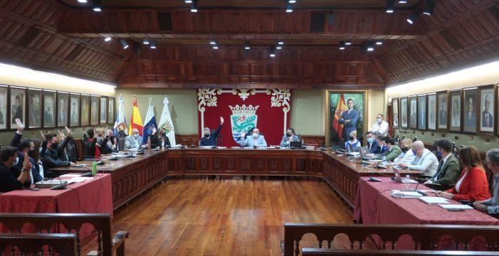 El Gobierno del Puerto de la Cruz aprueba en solitario el presupuesto de este año