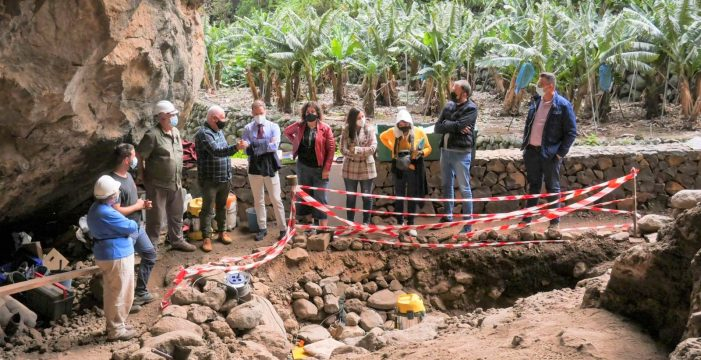 Finalizan las excavaciones en la Cueva de El Tendal