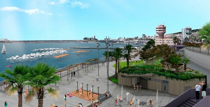 La playa de Valleseco, una realidad que llega tras 30 años de lucha vecinal