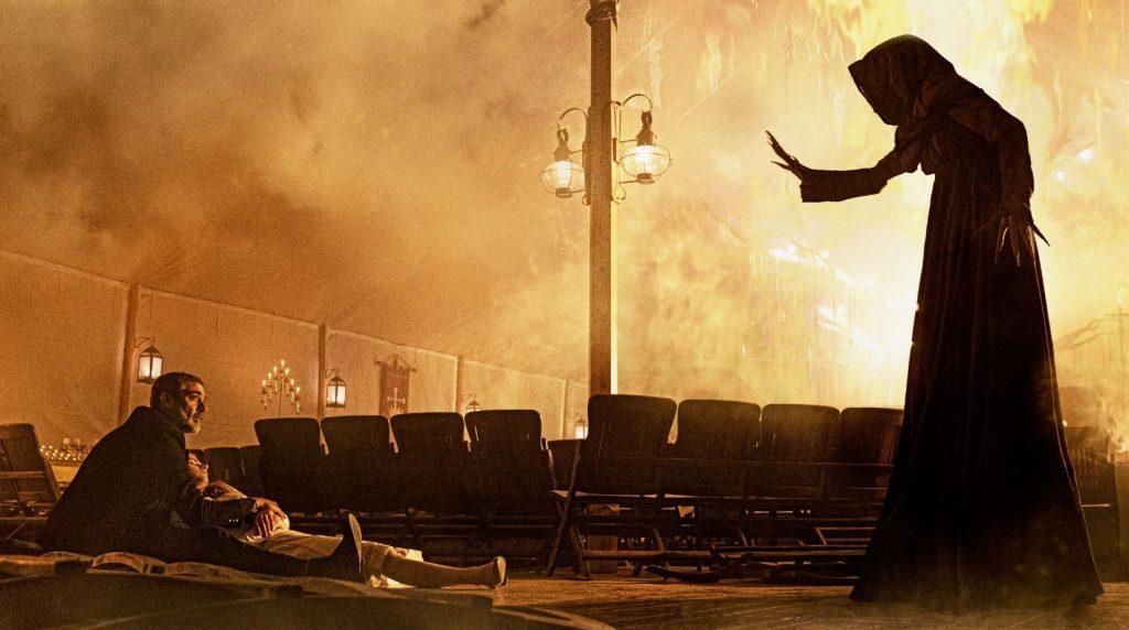 Jeffrey Dean Morgan se enfrenta a las fuerzas del mal en 'Ruega por nosotros'.