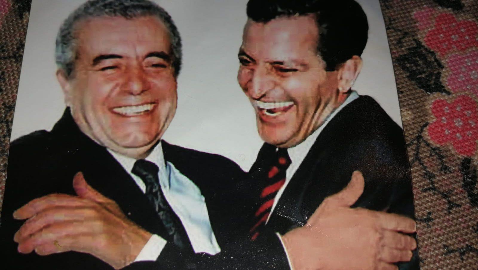 Lorenzo Olarte y Adolfo Suárez. / DIARIO DE AVISOS
