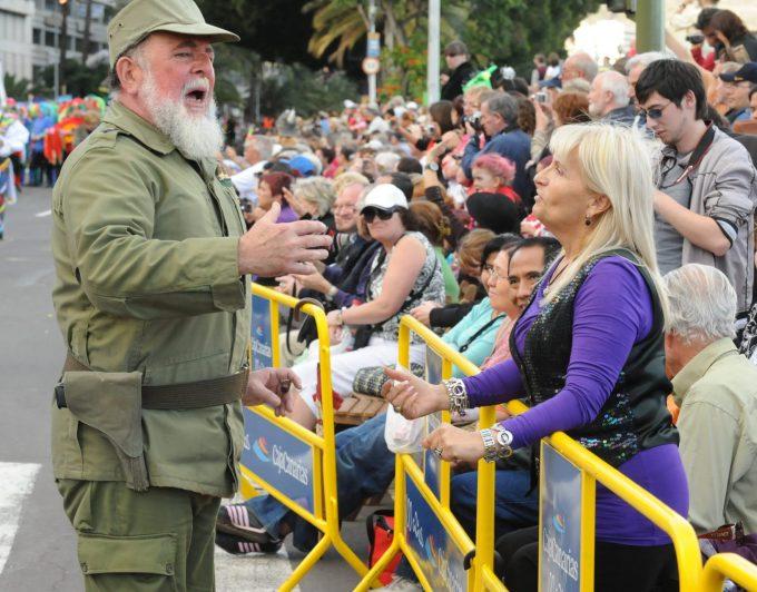 """El Fidel Castro del Carnaval: """"Ojalá el parón sirva para recuperar la esencia"""""""