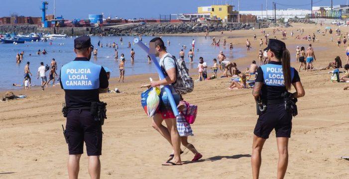 Más presencia policial y estacionamientos rotatorios en las playas de Santa Cruz para evitar aglomeraciones
