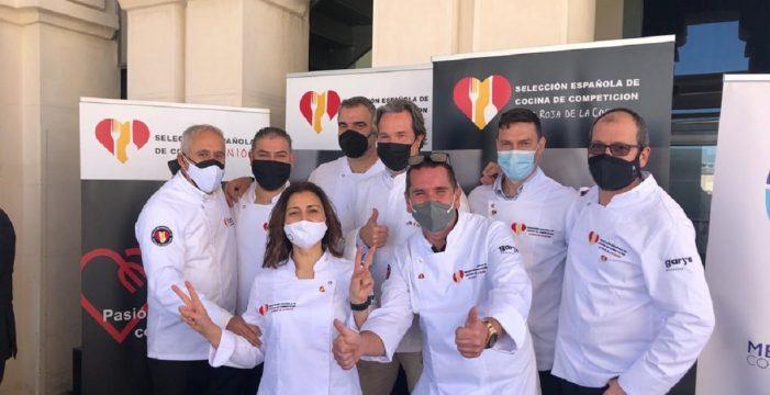 Sal y pimienta: Leeb, Bosh y Pulido representan a Canarias en 'La roja de la cocina'