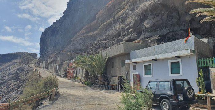 Ordenan el desalojo, por riesgo de desprendimientos, de Las Bajas, en Güímar