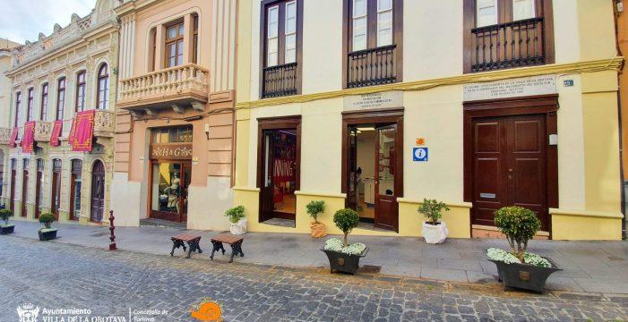 La casa donde nació el escultor Fernando Estévez, sede de la nueva oficina de turismo de La Orotava