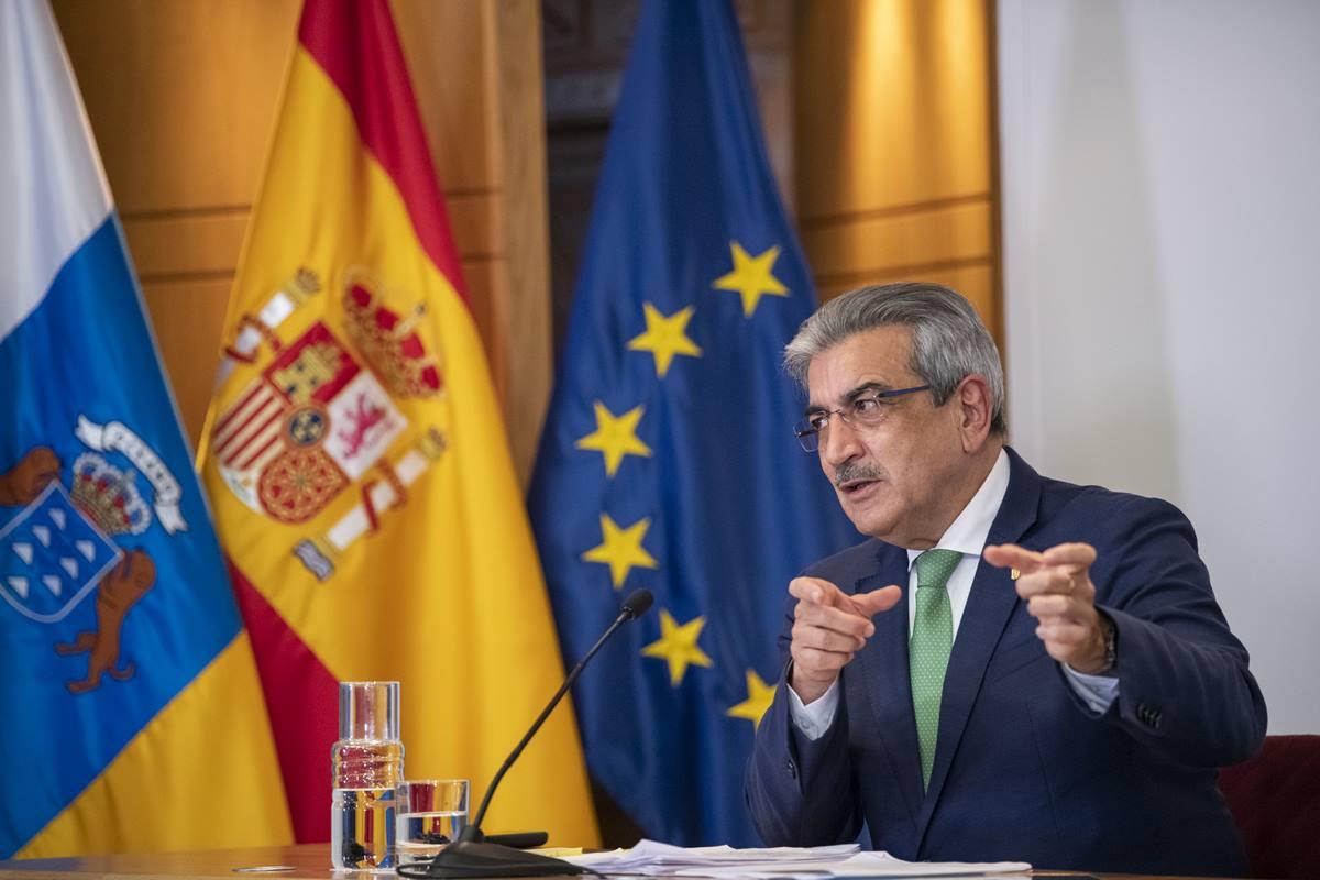 Román Rodríguez, vicepresidente autonómico y consejero de Hacienda, Presupuestos y Asuntos Europeos. DA