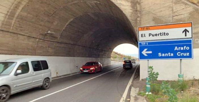 El Puertito de Güímar clama por un segundo acceso desde la autopista