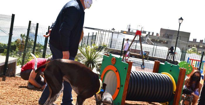 Tabaiba estrena el primer parque para perros en el municipio de El Rosario