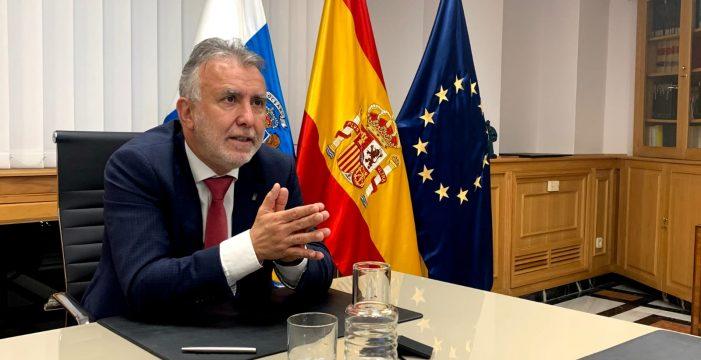 """Ángel Víctor Torres: """"Frente al histrionismo de CC con Madrid, nosotros preferimos negociar para dar solución a los problemas"""