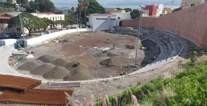 Las obras del polideportivo de San Andrés se reanudan