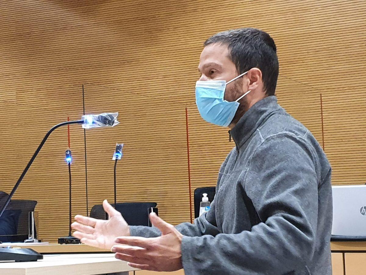 El procesado, Marcos José H.S