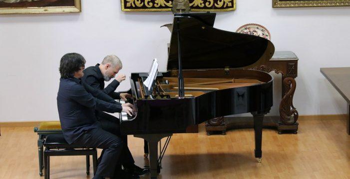 Madrigal y Garvayo interpretan 'la Tercera' de Mahler a cuatro manos