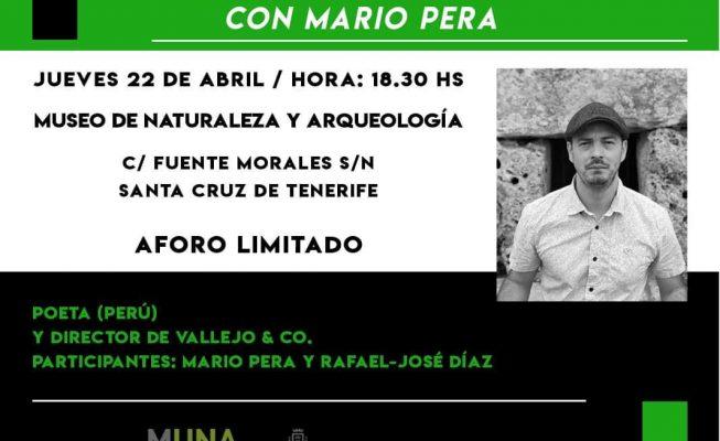 El MUNA celebra este jueves un encuentro poético con Mario Pera