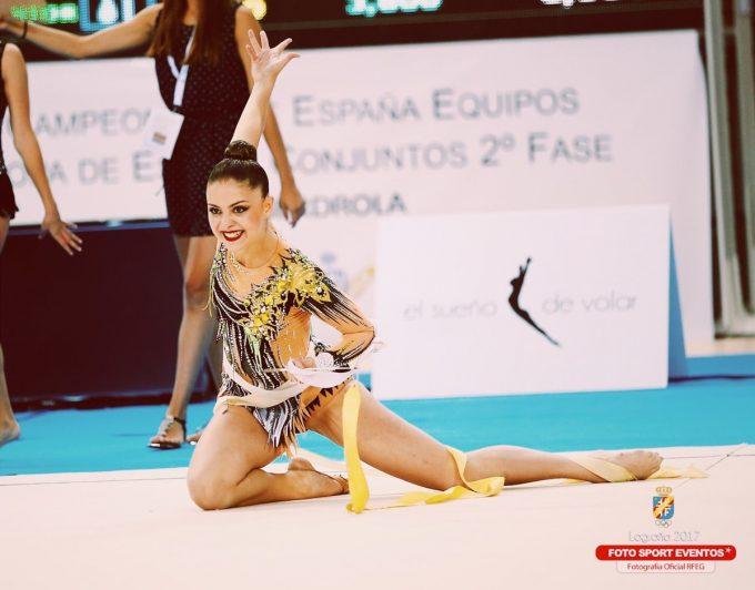 """Esther Santoyo: """"Con la gimnasia, la única recompensa es la satisfacción personal: eso es lo que engancha"""""""