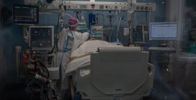 Un hombre desconecta el respirador de otro paciente Covid porque le molestaba el ruido