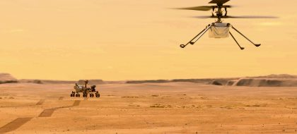 Ingenuity afronta el reto del primer vuelo en otro planeta