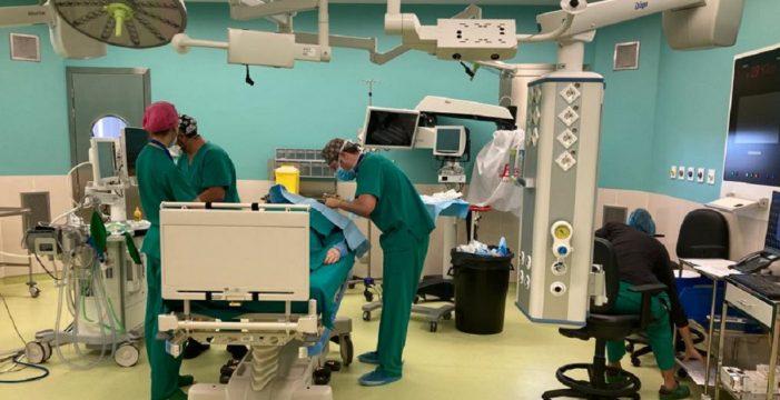 Abren los primeros quirófanos del Hospital del Sur después de 30 años