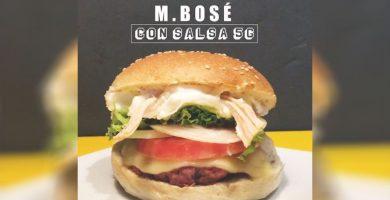 La hamburguesa Miguel Bosé con salsa 5G que 'triunfa' en Tenerife