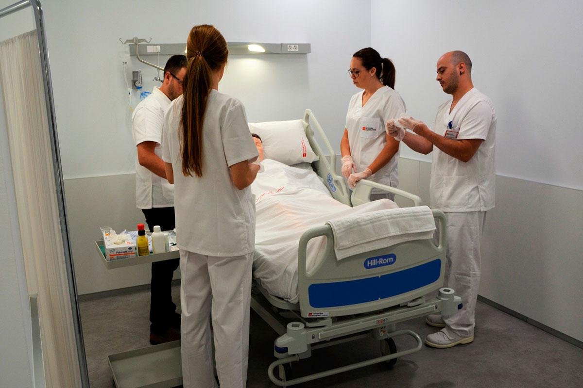 Hospital Simulado de la Universidad Europea de Canarias