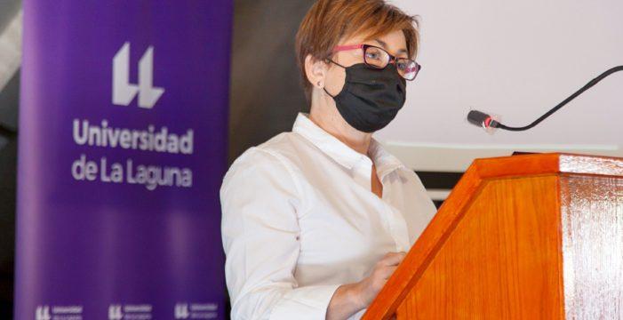 Rosa Aguilar destaca que la ULL está en el mejor de los escenarios