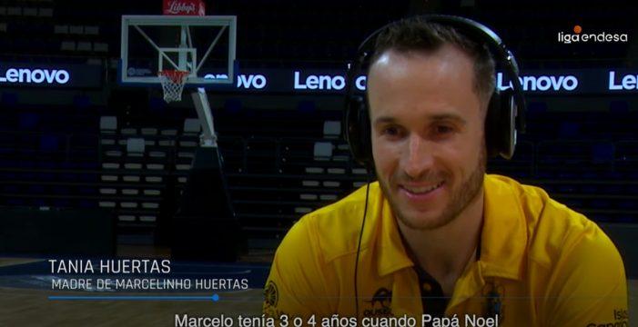 Marceliho Huertas y la 'banda sonora' de su carrera deportiva