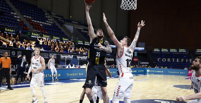 El Canarias gana a Bilbao (86-67) y será cabeza de serie en los 'play-off'